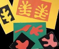 Etape de l'atelier Enfant en train de réaliser l'atelier boîtes d'artistes de Matisse par Art Kids Company