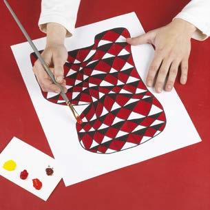 Une étape de l'atelier peinture 3D par Art Kids Company