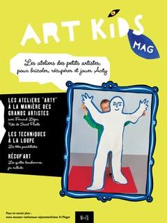 Couverture Art Kids Mag numéro 78 spécial COVID 19