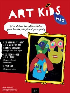 Couverture Art Kids Mag numéro 79 spécial COVID 19