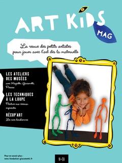Couverture Art Kids Mag numéro 80 spécial COVID 19