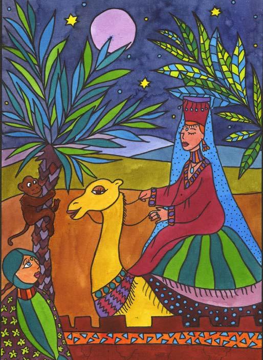 Atelier coloriage : un voyage au Maroc par Art Kids Company