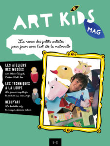 couverture Art Kids Mag numero 82