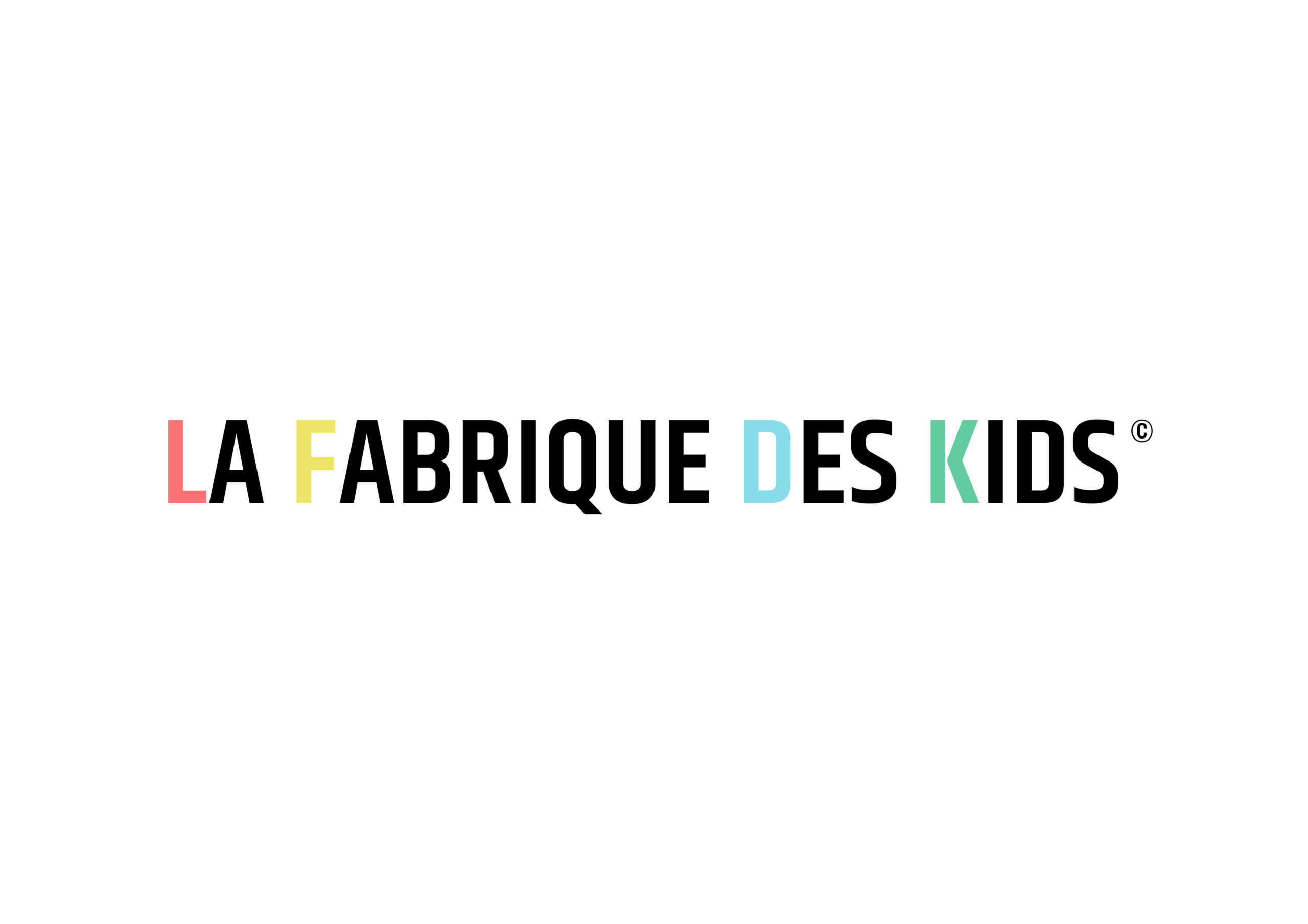 logo La Fabrique des Kids by Art Kids Company